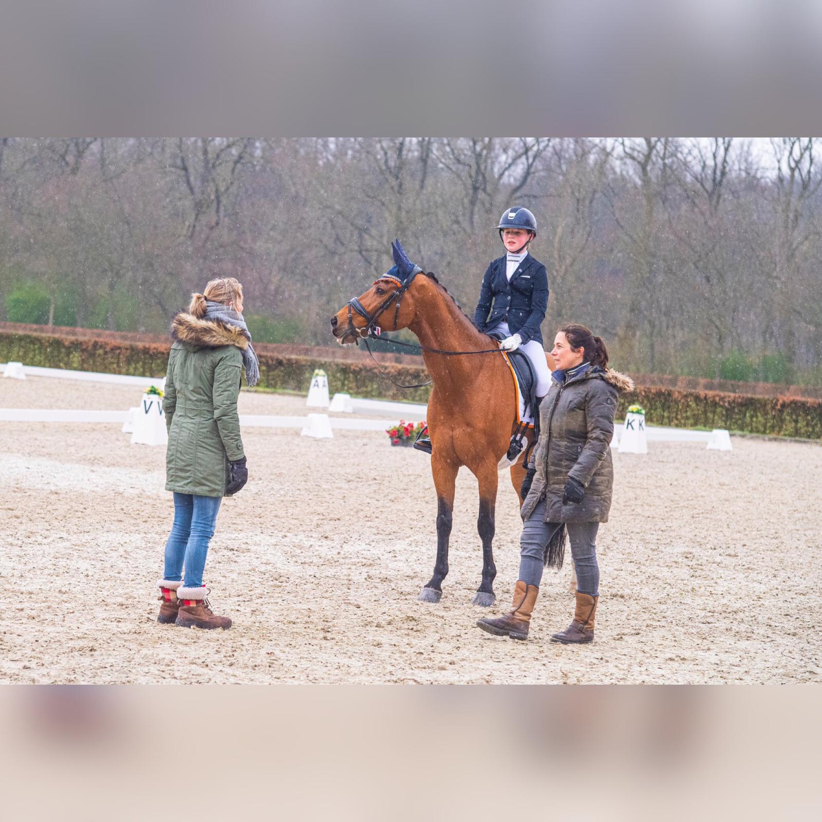 KNHS scouting dag met Imke Schellekens-Bartels