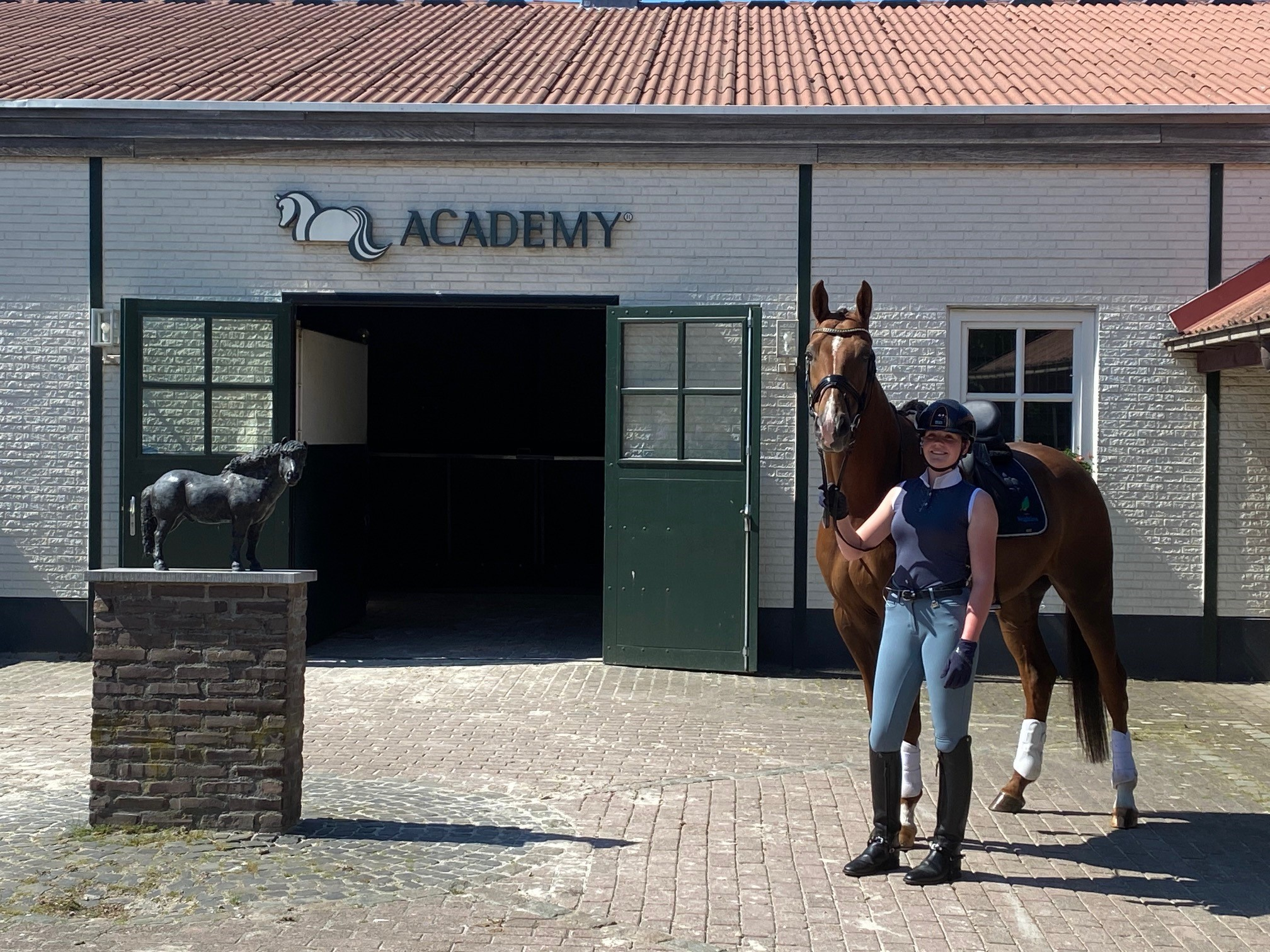 Sita Hopman - Trainingsarrangement Academy Bartels