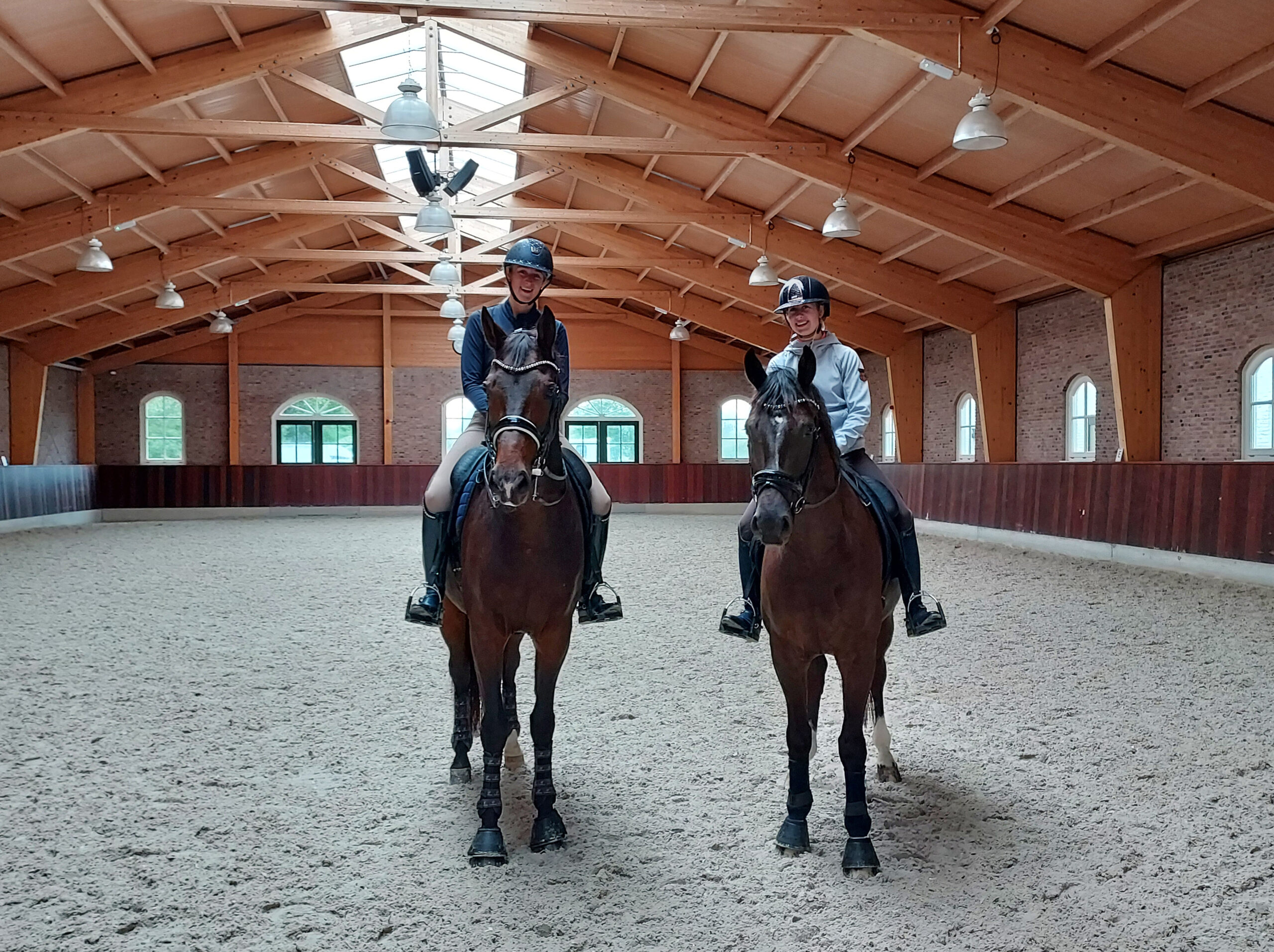 Dressage riders at Academy Bartels